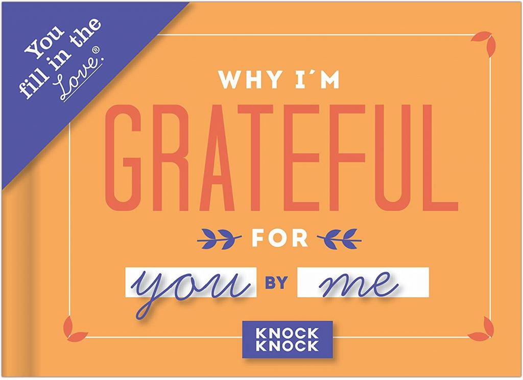 Why I'm Grateful for You Fill in the Love Book Fill-in-the-Blank Gift Journal women's day gifts for mom