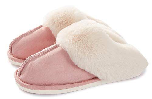 Womens Slipper Memory Foam Fluffy Soft Warm Slip On House Slipper women's day gifts for mom