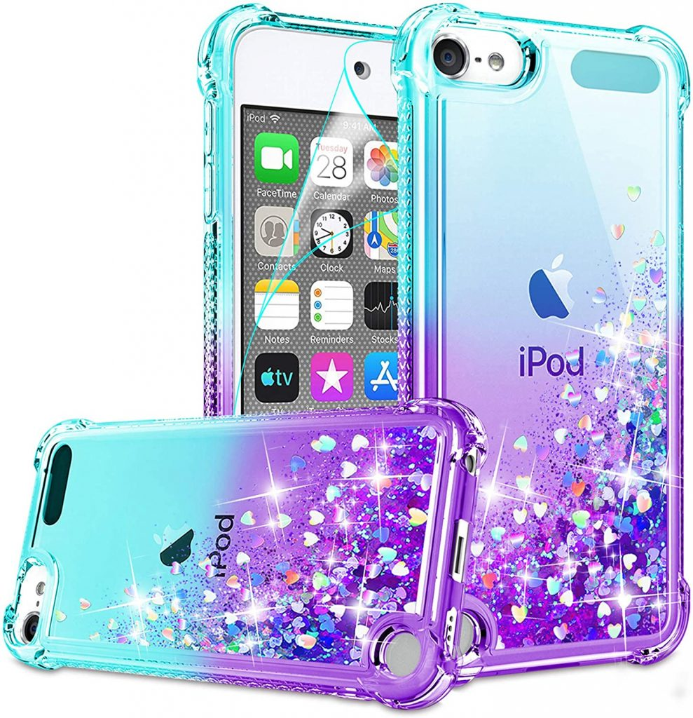 iPod Touch 7 Case iPod Touch Case with HD Screen Protector for Girls Women top 30 women's gift ideas for mom 2021