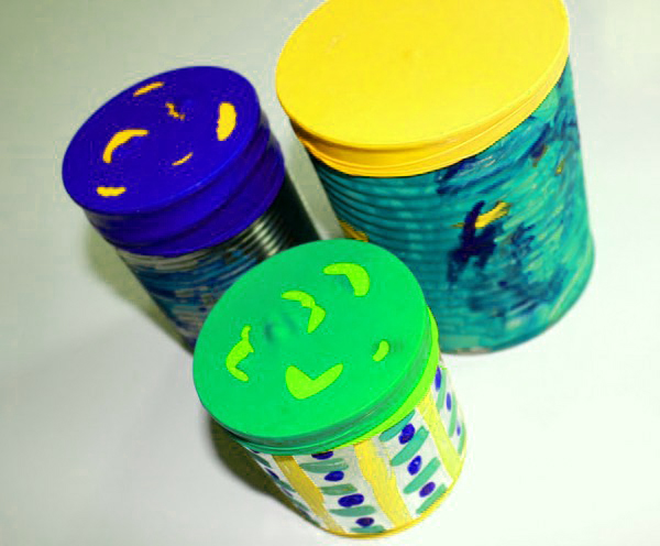 Earth day Activities for kids by paints
