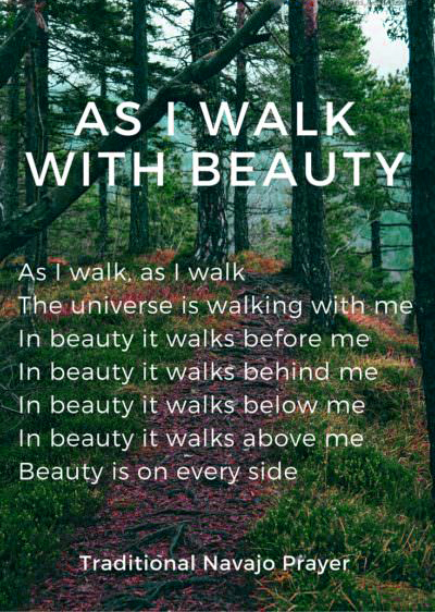 As I walk poem earth day quotes 2021