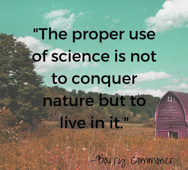 Barry Commoner earth day quotes 2021