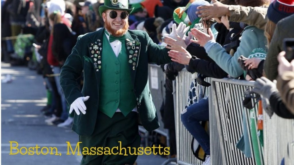 Boston, Massachusetts has every fun relating to St. Patrick's Day celebration