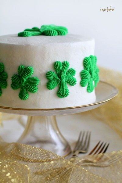 Cake mix cookie recipes St. Patrick's Day