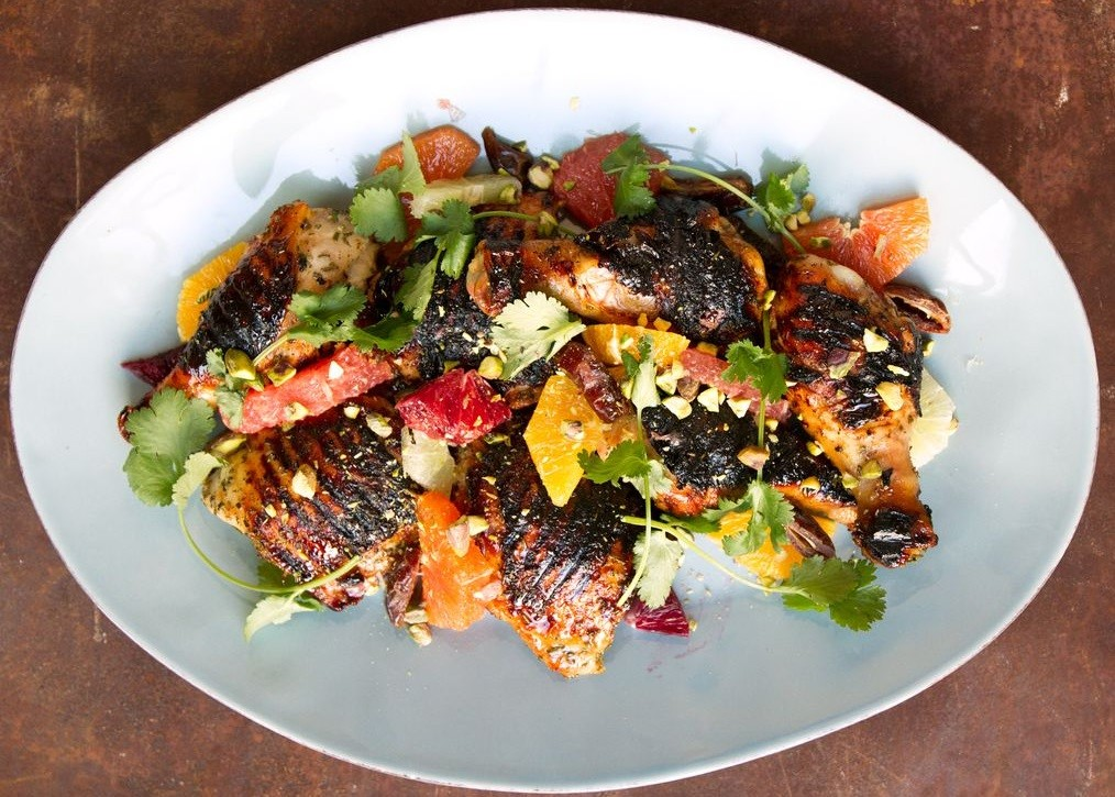 Chicken Bound Honey with Citrus Salad Delicious Spring Equinox Food Ideas 2021