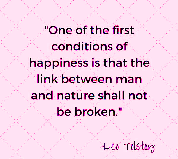 Earth day quote 2021 Leo Tolstoy