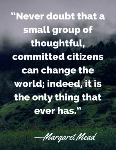 Earth day quotes Margaret Mead Shared