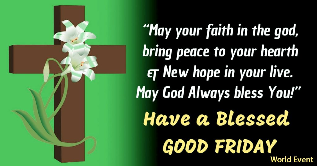 Good Friday Wishes Images 2021