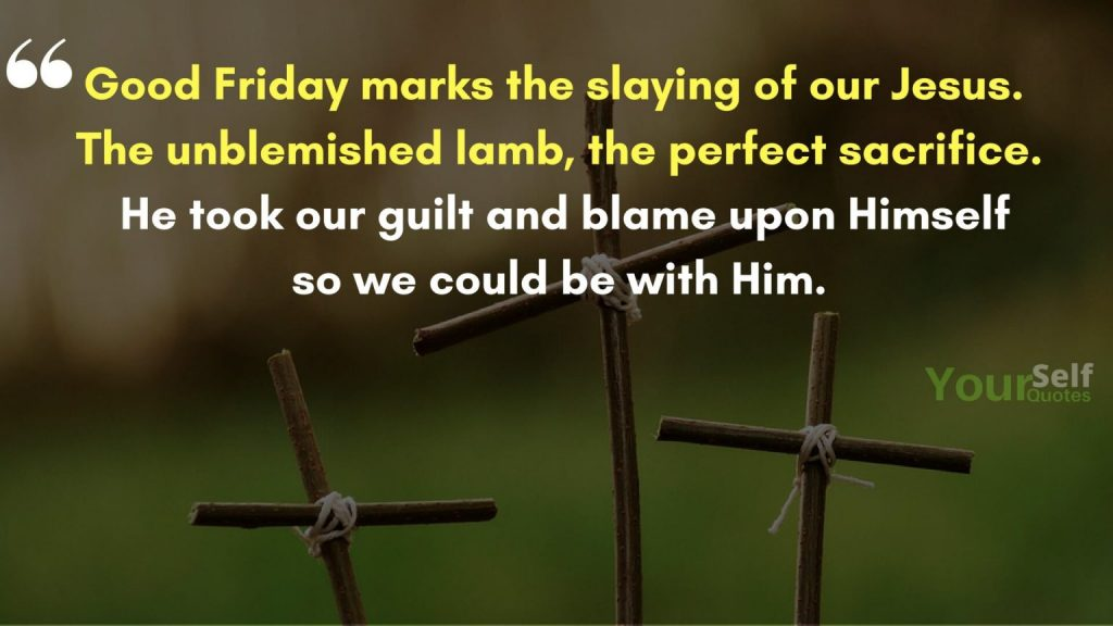 Good Friday Wishes Quotes images
