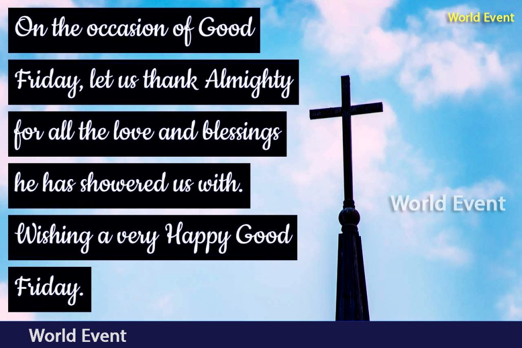 Good Friday Wishes images 3
