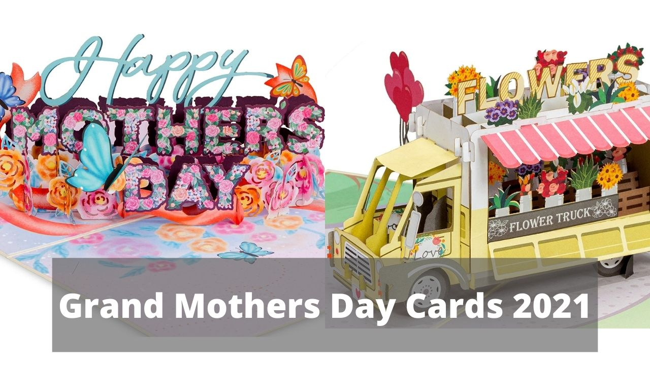 Grand Mothers Day Cards 2021