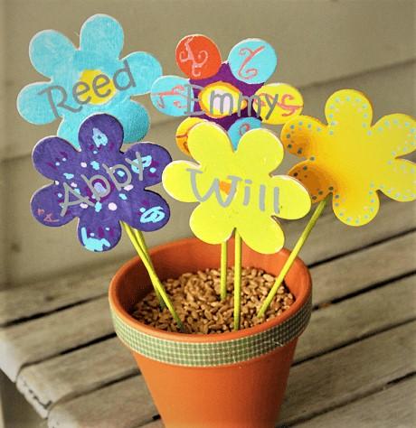 Grandchildren Grandma Mothers Day Toddler Flower Craft