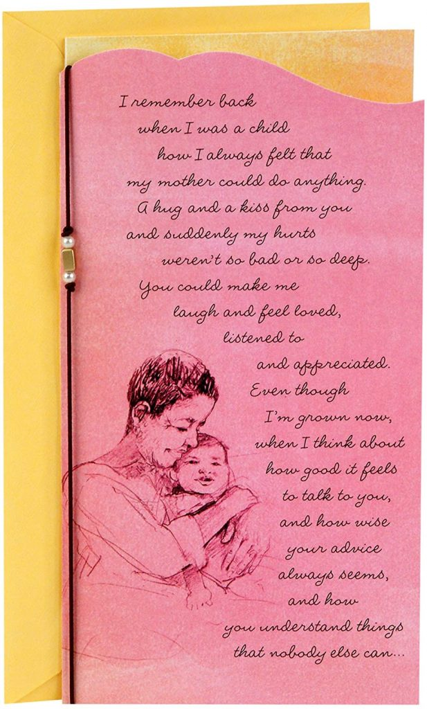 Hallmark Mahogany Mother's Day Card for Mom from Adult Child 2021