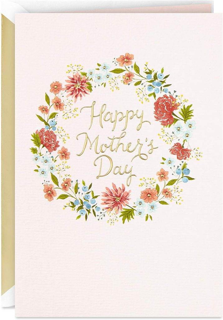 Hallmark Signature Mothers Day Card (All Kinds of Beautiful) 2021
