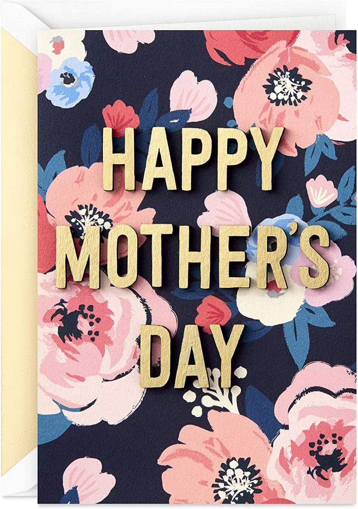 Hallmark Signature Mothers Day Card (All the Happiness You Bring) 2021
