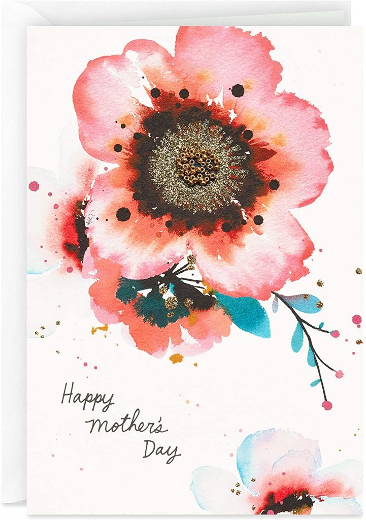 Hallmark Signature Mother's Day Card (Watercolor Flowers) 2021