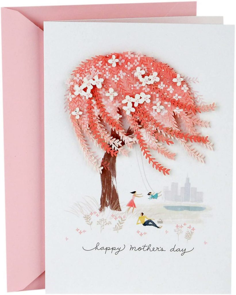 Hallmark Signature Mother's Day Card from Husband, Child, Family Member (For All You Do for Our Family) 2021