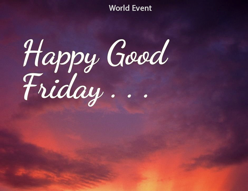 Happy Good Friday wishes images 1