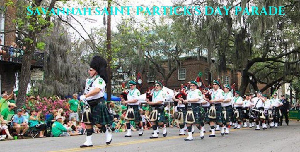 Savannah St. Patrick's Day Parade Way