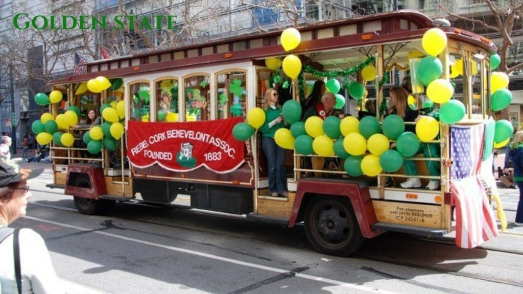 Second Major event is in San Francisco, California event of St. Patrick's Day k