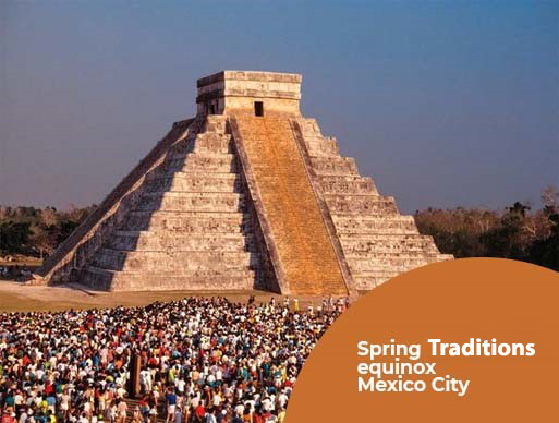 Spring Traditions equinox Mexico City
