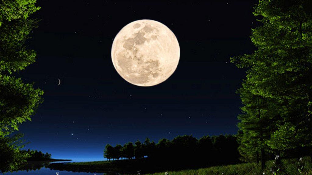 Spring equinox super moon 2021