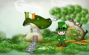 St Patrick's Day Leprechaun todays traditions