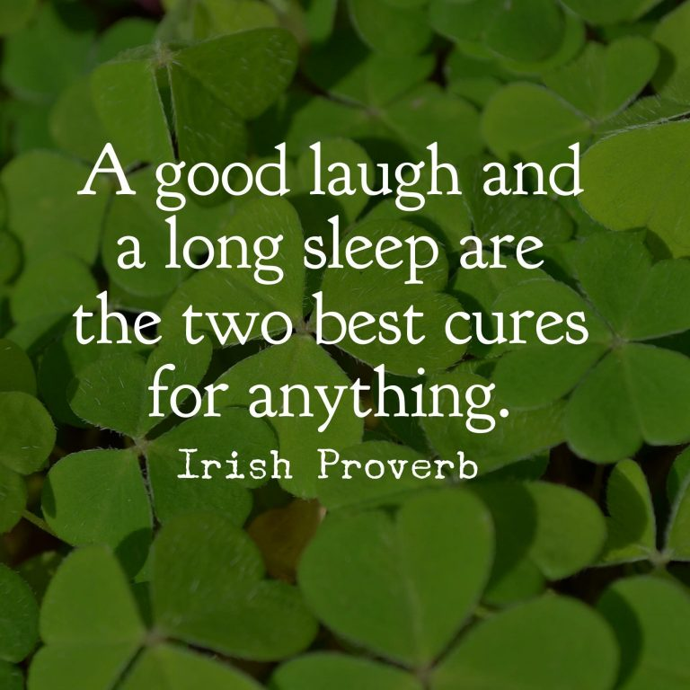 St Patrick's Day Phrases by Irish Proverb