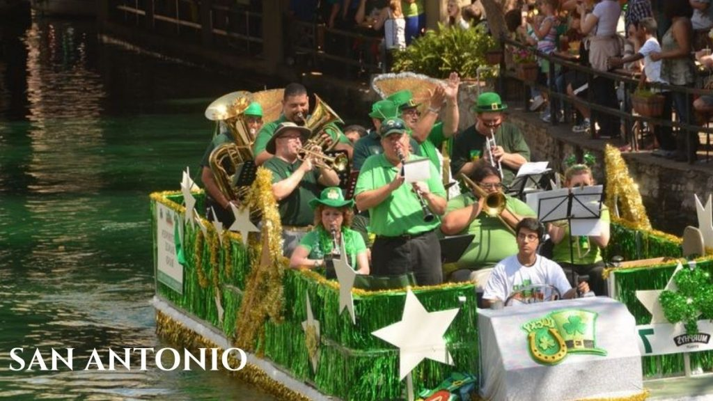 St patrick's day Events in San Antonio Texas