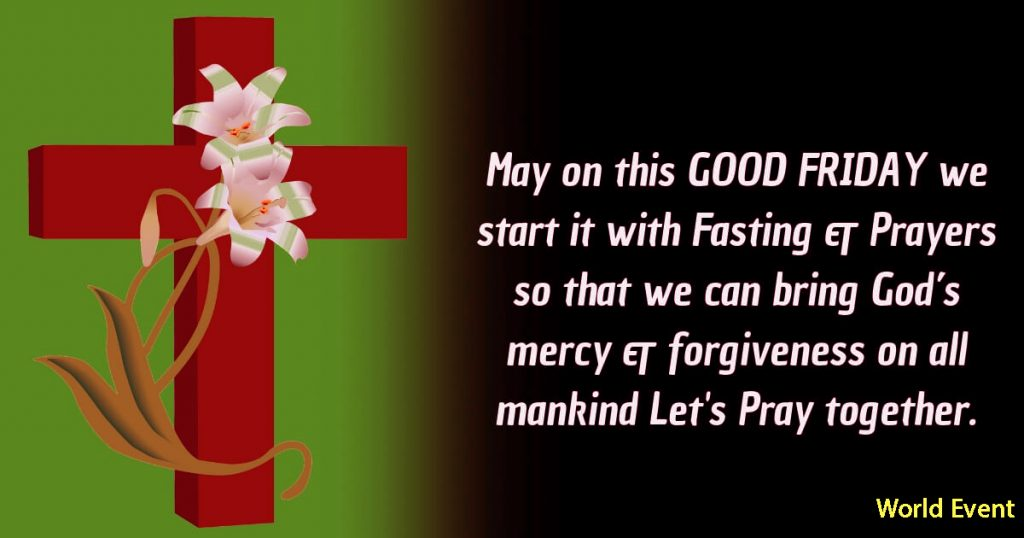Wishing you all a Happy Good Friday