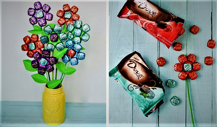 chocolate mothers day bouquet