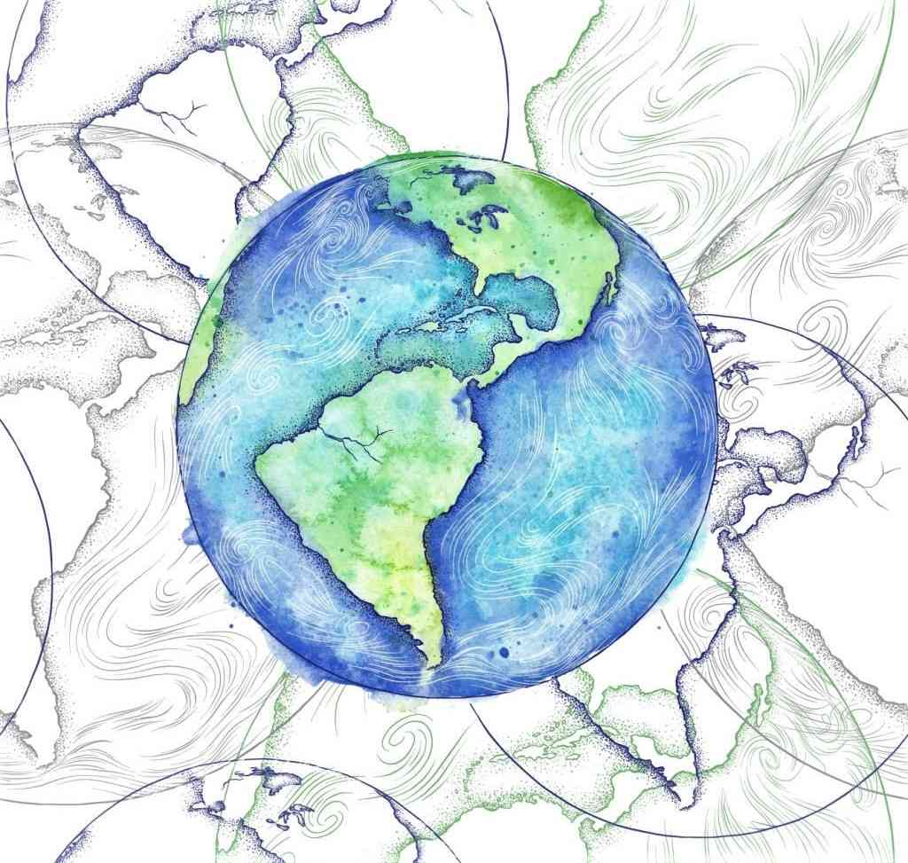 earth day images sketch 2