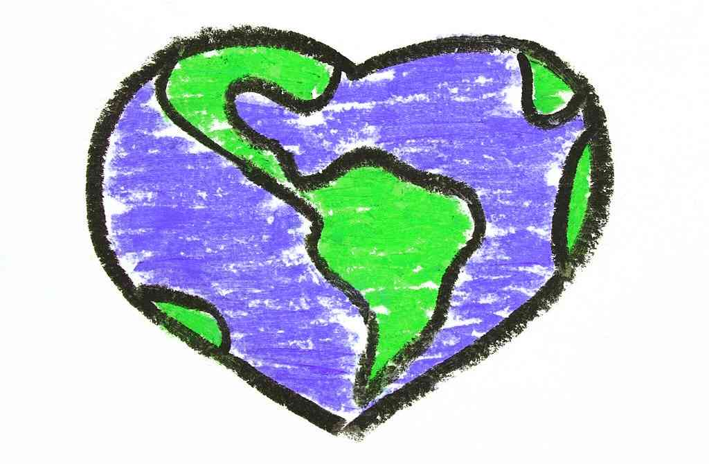 earth day images sketch