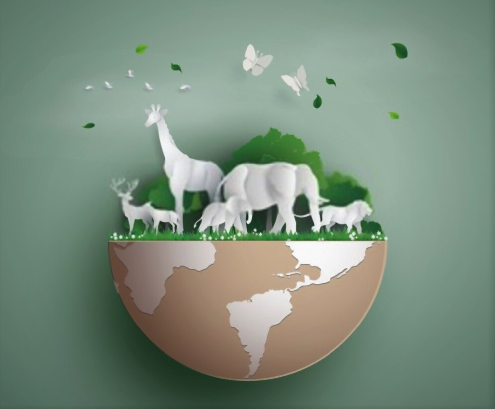earth day poster of animal wild life 3