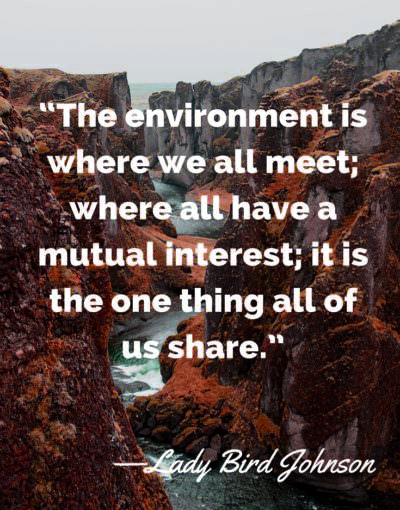earth day quotes 2021 Lady Bird Johnson
