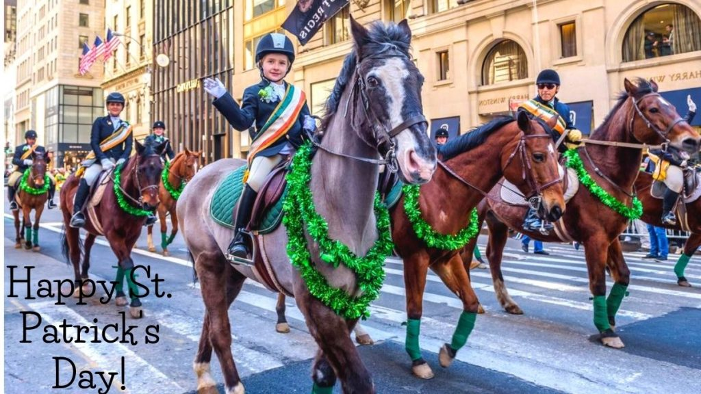 first biggest event of St. Patrick's Day take place in New York