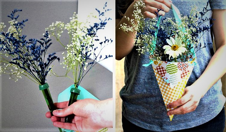 hanging flora arrangement