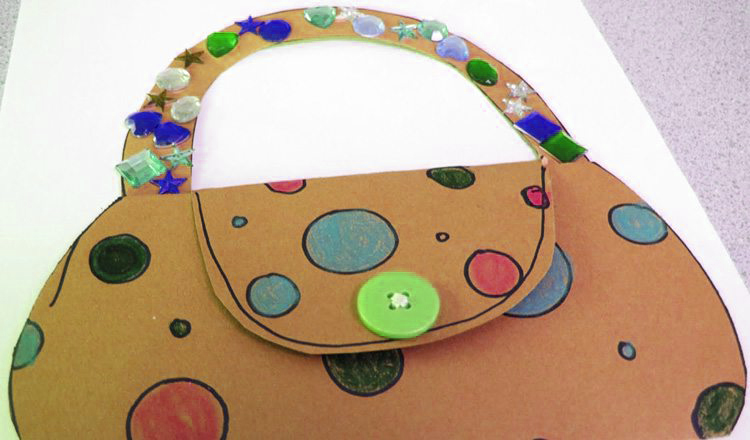 mothers day purse card mother's day activities for toddlers