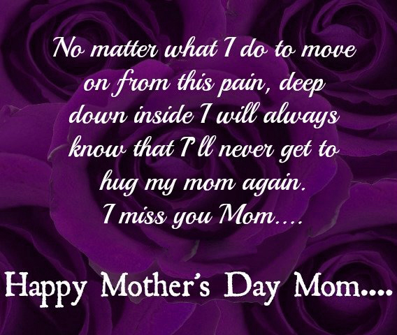 mothers day quotes for mom in heaven