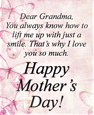 mother's day wishes for grandma 1