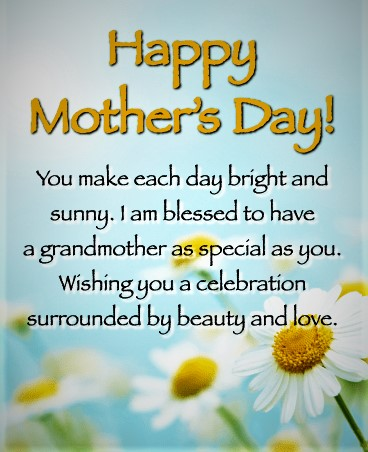 mother's day wishes for grandma 2