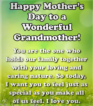 mother's day wishes for grandma 8