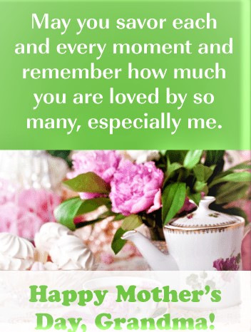 mother's day wishes for grandma 9
