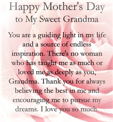 mother's day wishes for grandma mother135