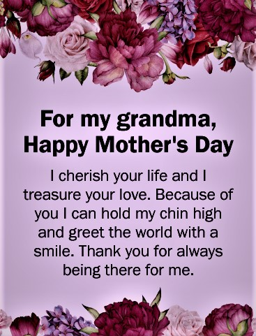 mother's day wishes for grandma mother138