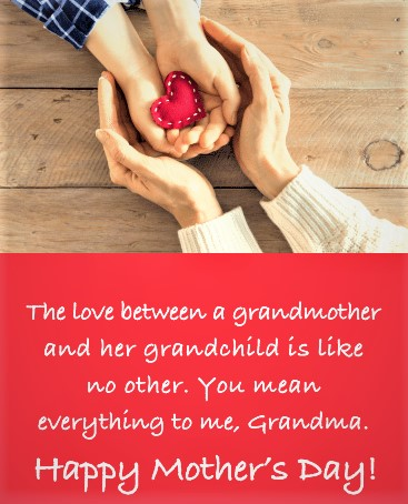 mother's day wishes for grandmother 7