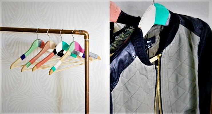 yarn wrapped hangers
