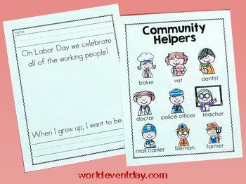 CRAFT IDEAS LABOUR DAY ACTIVITIES IN SCHOOL 2