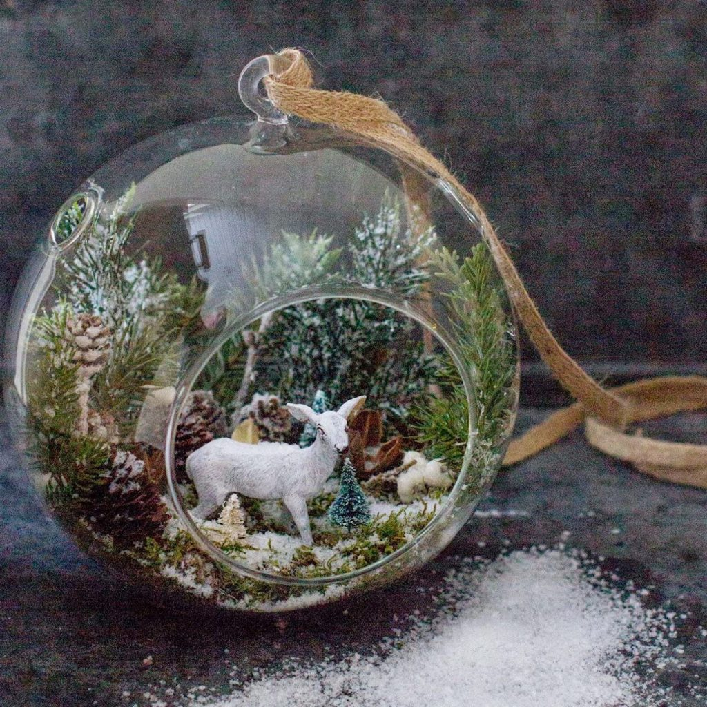 Hanging Globe Glass Terrarium Air Plant Candle Holder best mothers day gift 2021