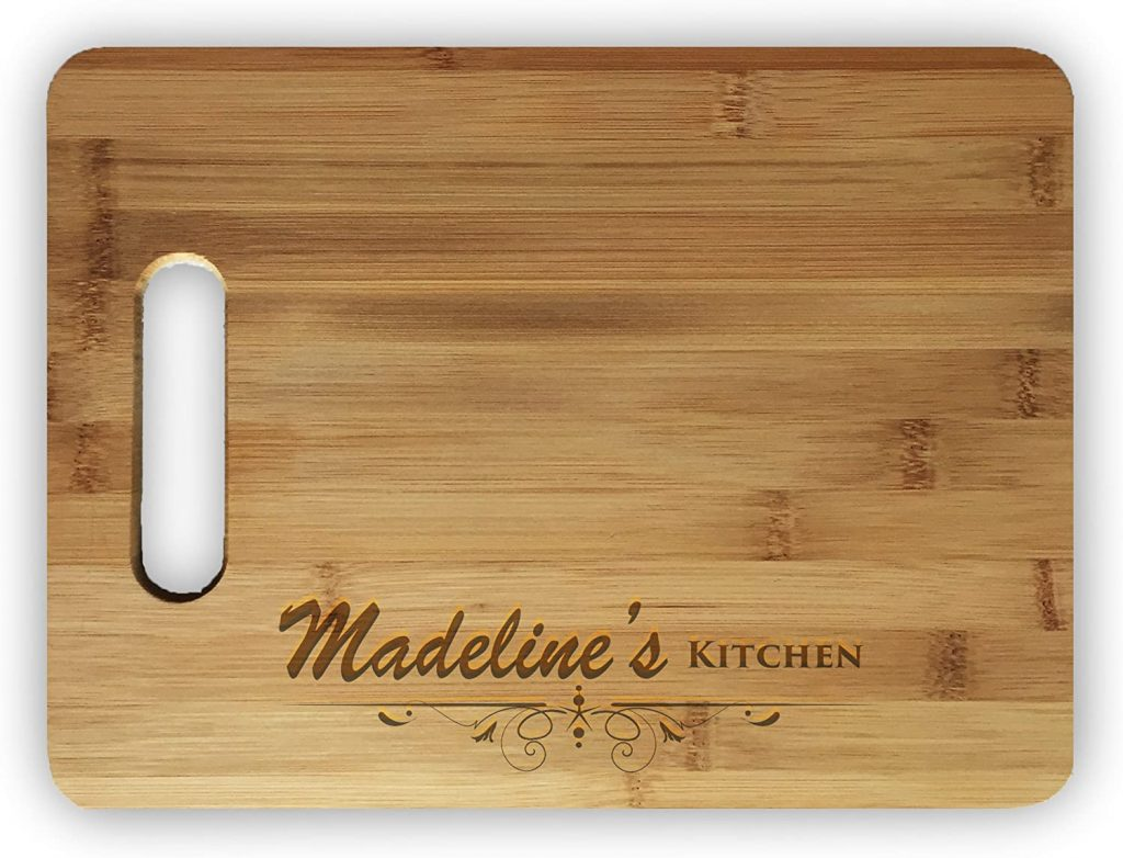 Personalized Laser Engraved Bamboo Cutting Board